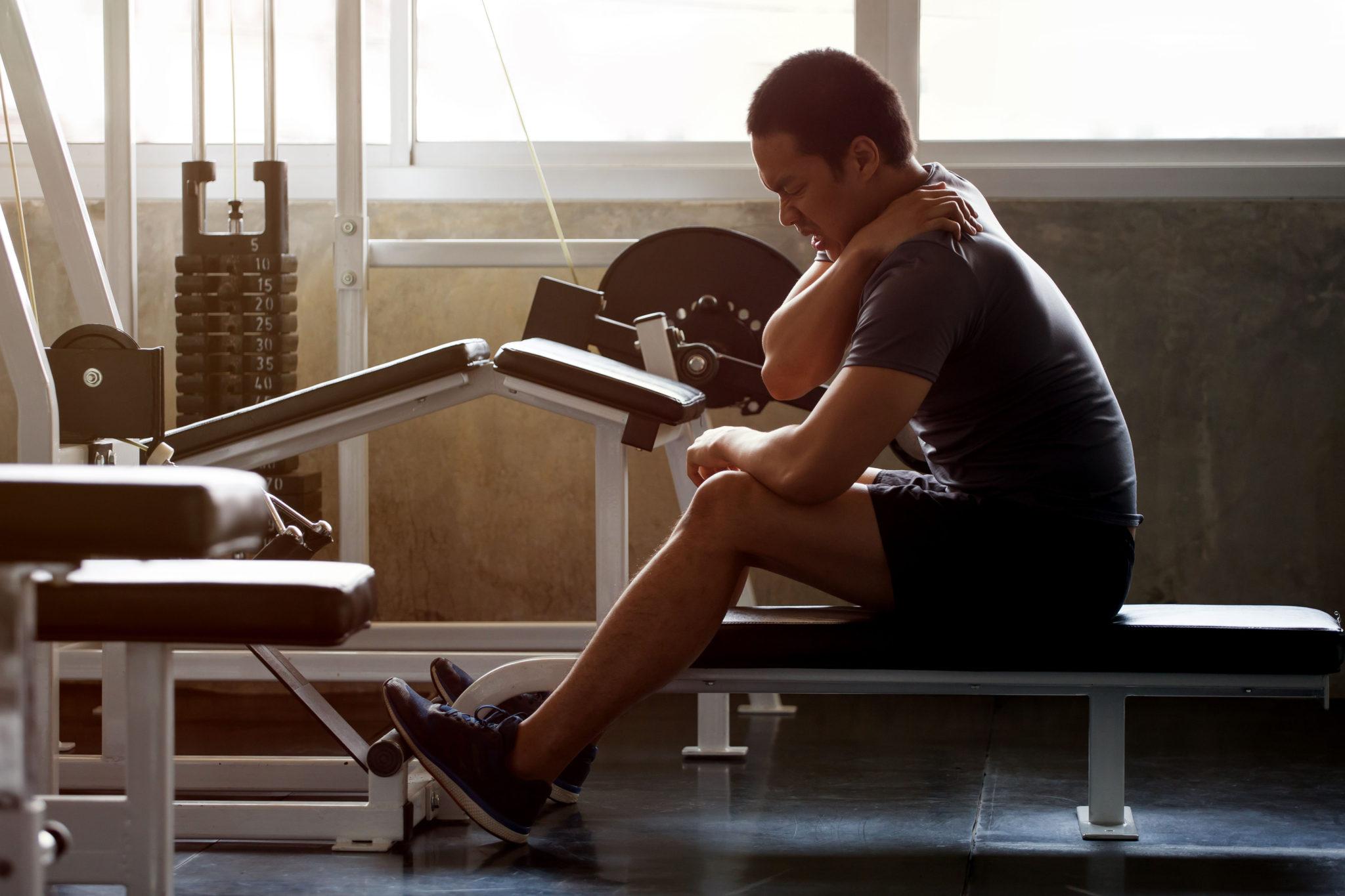 sports injury weights